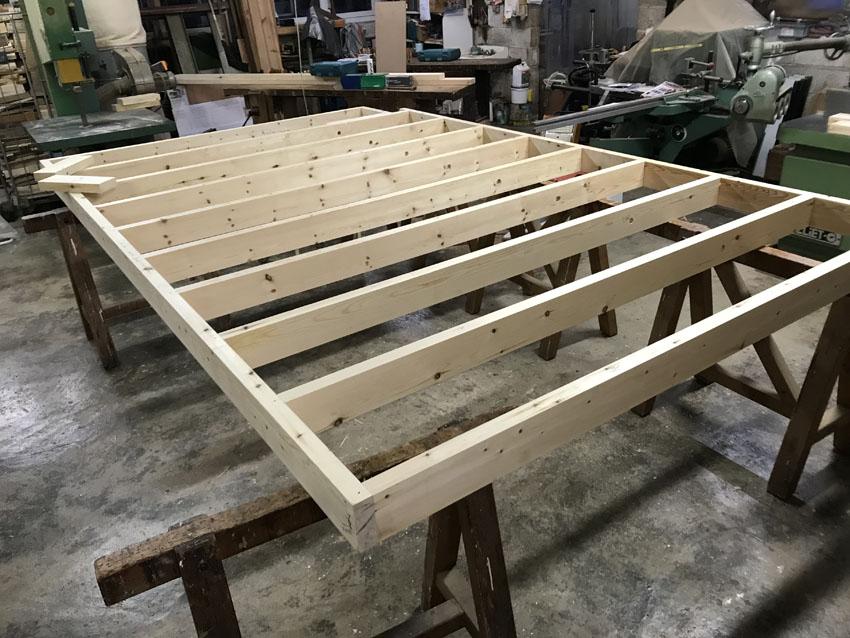 Assemblage des bois