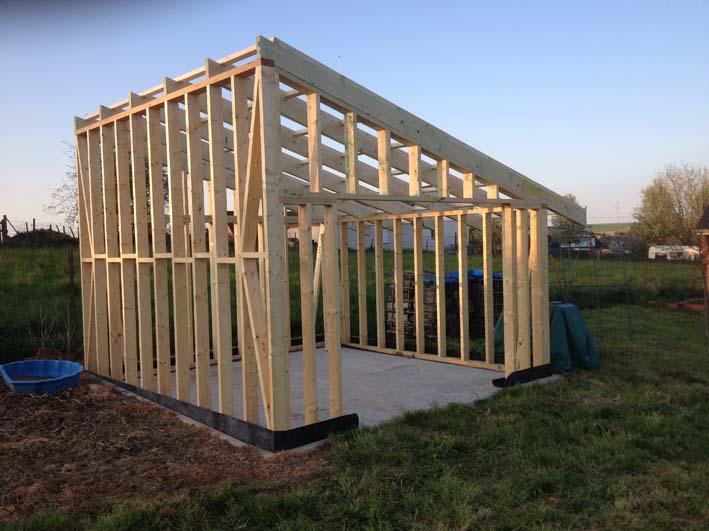 La structure basting 150x60 dressé 4 faces