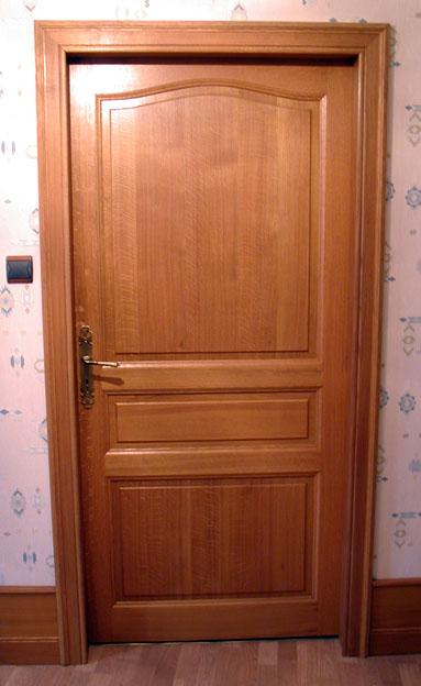 Porte chene interieure descamps diffusion solesmes